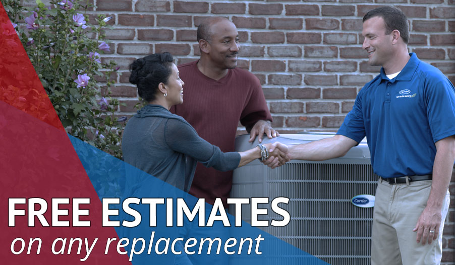 Heating and Cooling Estimates in Chesapeake, Virginia Beach, Norfolk, Portsmouth, VA Ad